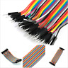 40pcs 20cm 2.54mm Male To Male Breadboard Jumper Wire Cable For Arduino Tools