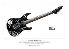 Kirk Hammett's ESP KH-2 Ouija Limited Edition Fine Art Print A3 size