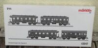 Märklin 43047 H0 Personenwagen-Set Langenschwalbacher DRG Ep.2 MHI NEUWERTIG,OVP
