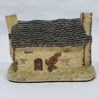 David Winter Miners Cottage 1982 Original Box COA Hand Made Hand Painted