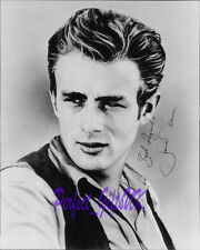 James Dean Rebel Without A Cause Circa SIGNED 10X8 REPRO PHOTO PRINT N3