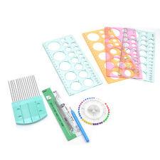 DIY Basteln Werkzeug Satz Papier Schablone Origami Quilling Kunst Zufällig