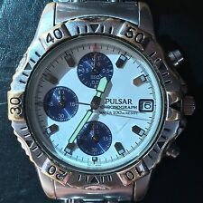 Men's Pulsar Chronograph Watch