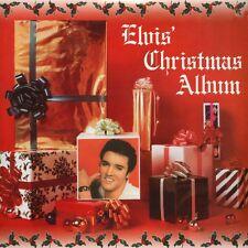 ELVIS PRESLEY - ELVIS' CHRISTMAS ALBUM Reissue (140g Audiophile LP | Red VINYL)