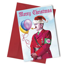 #353 CHRISTMAS CARD Rude Greeting Card funny humour joke Adult Prank