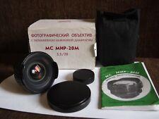 KMZ MC MIR-20M 20 mm f/3,5 Wide Angle Lens mount M42 EXC!