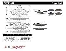 Disc Brake Pad Set-C-TEK Metallic Brake Pads Front Centric 102.07600