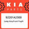 92201A2300 Kia Lamp assyfront foglh 92201A2300, New Genuine OEM Part