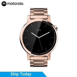 Motorola Moto 360 (2nd Gen.) Mens & Womens 42mm, Rose Gold with Rose Gold Metal