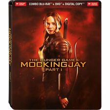 The Hunger Games: Mockingjay Part 1 Blu-ray Steelbook NEW!!