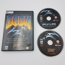 Doom: Collector's Edition - The Ultimate Doom Trilogy - PC CD-ROM - Free P&P!