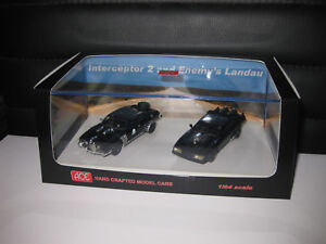 1/64 ACE Mad Max Interceptor 2 & Enemy's Landau Twin Set MOVIE CARS FREE AU POST