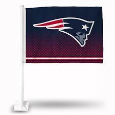 NFL New England Patriots Car Flag, NEW