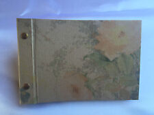 Fotoalbum mit Buchschrauben - Format: 20 x 13,5 cm - Motiv Rose Natur
