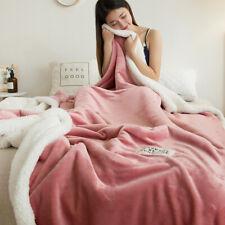 Luxury Faux Blanket Large Fur Fleece Throw Double Soft Mink Bed Sofa King Size
