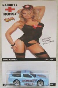 Hot Wheels CUSTOM '96 NISSAN 180SX Naughty Nurse Real Riders Limited 1/25 Made