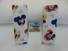 Mickey Mouse Seat Belt Covers Child Car Seat Highchair Stroller Pram - Cameo