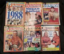 Pro Wrestling Illustrated March, June, July, Aug, Sept. & October Magazine Combo