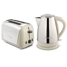 Prestige Stainless Steel 1.7L Cordless Kettle 2 Slice Toaster Breakfast Set New