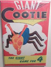 "Giant Cootie Board Game Box 2""x3"" MAGNET Refrigerator Locker Retro"