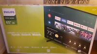 "Philips 65"" Class 4K Ultra HD (2160p) Android Smart LED TV *NEW SEALED BOX*"