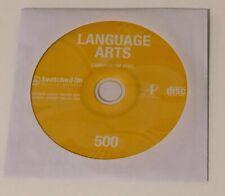 Switched On Schoolhouse 5th Grade Language Computer Program Language Grade 5 Sos