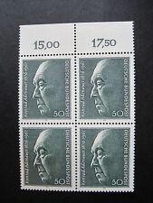 Federale/BRD MiNr. 876 sistema di quattro post freschi (S 790)