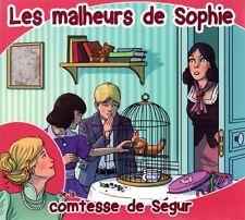 La COMTESSE DE SÉGUR / Les Malheurs de Sophie / (1 CD) / NEUF