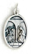 THE ANNUNCIATION / ST GABRIEL THE ARCHANGEL Catholic Patron Saint Medal NEW