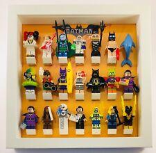 Lego Minifigure Display Case Frame for Lego Batman Movie Series 2 & 1 Minifigs