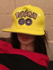 POKEMON GO FLUORESCENT YELLOW CAP