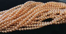 """TWO HUNDRED (200) 4mm Round Czech Glass Beads - """"Druks"""" - Many Colors"""