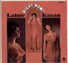 LAINIE KAZAN ~ RIGHT NOW! ~ 1966 UK 12-TRACK MONO LP RECORD ~ MGM MGM-C-8015