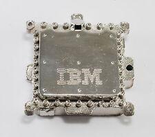 IBM CIRCUIT CHIP METAL PENDANT IBM TCM Mainframe Processor  STEAMPUNK JEWELRY