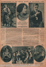 Movie Review of Hollywood Stars w Rudy Valentino 1925