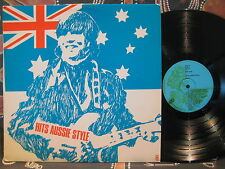HITS AUSSIE STYLE Billy Thorpe BEE GEES Love Machine NORMIE ROWE - 1960s WRC LP