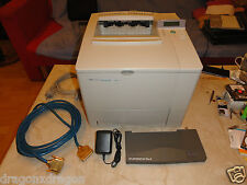 HP LaserJet 4000 Laserdrucker + HP Jetdirect EX Plus3 Printserver, 2J. Garantie