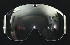 FLIGHT HELMET GENTEX  HGU-33  PARTS CLEAR VISOR LENS FLYERS