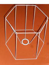 support pour fabriquer un abat-jour,forme:hexagonale (hauteur:30cm,largeur:26cm)
