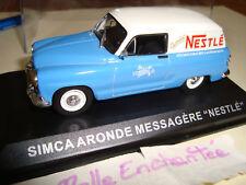 SIMCA ARONDE BREAK MESSAGERE NESTLE PUB 1/43° NEUF