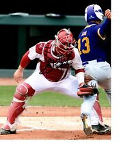GRANT KOCH ARKANSAS RAZORBACKS BASEBALL SIGNED 8X10 PHOTO W/COA