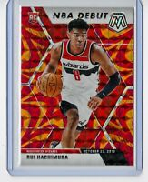 2019-20 PANINI MOSAIC ORANGE REACTIVE PRIZM NBA DEBUT RUI HACHIMURA RC | #275