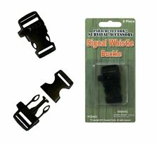 Signal Whistle Buckle Craft Projects Paracord Bracelets Lanyards Key Fobs Safety