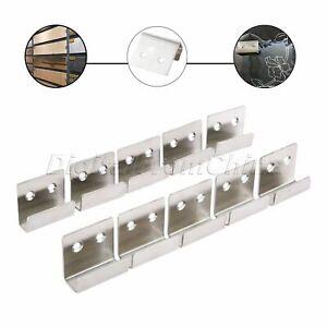 Wood Sample Ceramic Tile Display Shelves Holder Wall Hanger Bracket Rack Durable