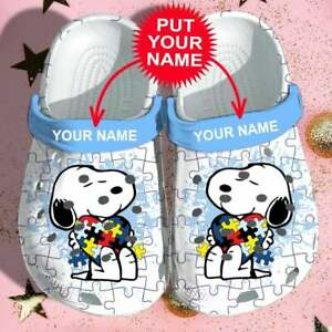 Snoopy Autisn shoe,Snoopy Crocband