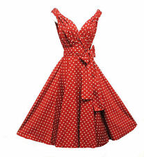 Polka Dot 100% Cotton Dresses for Women
