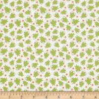 Riley Blake Sweet Baby Girl C4294 Frogs 100% cotton Fabric by the yard