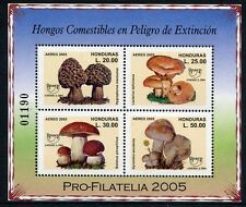 HONDURAS 2005 Pilze UPAEP Funghi Mushrooms Block 86 ** MNH