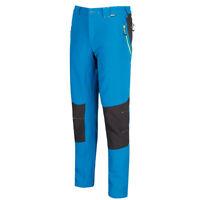 Regatta Mens Trouser Qustra Softshell Lightweight Walking Hiking Pant Petrol Ash