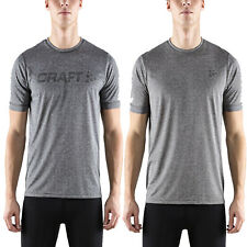 Craft Mens Eaze Short Sleeve T-Shirt Lightweight Cycling Running Fitness Gym Top